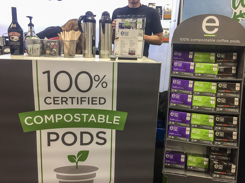 Compostable coffee pods | Winter Fancy Food Show