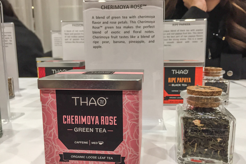 Cherimoya and melon tea | Winter Fancy Food Show