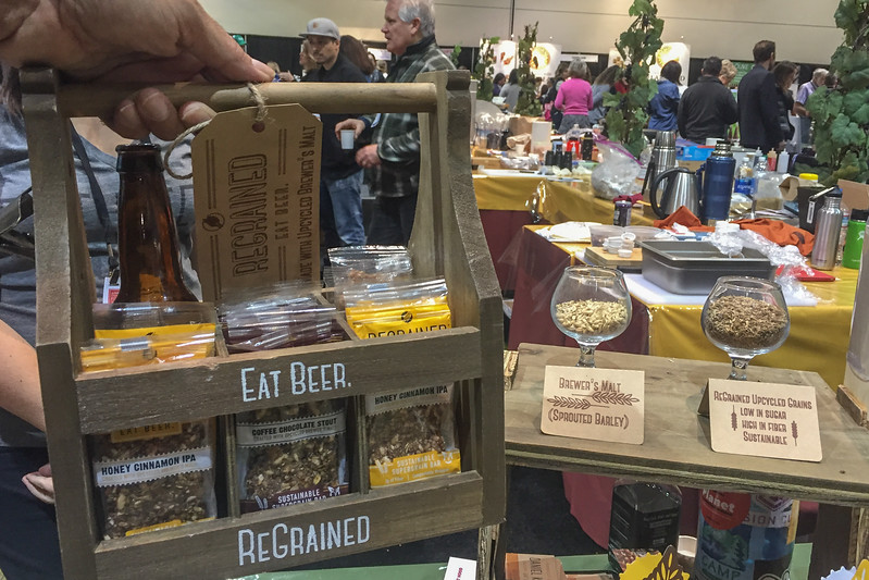Regrained, using upcycled beer brewing grains in food | 2017 Winter Fancy Food Show
