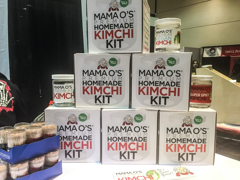DIY Kimchi Kit at the 2017 Winter Fancy Food Show
