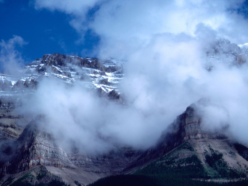 The amazingly beautiful Banff National Park, nestled in the heart of the Canadian Rockies