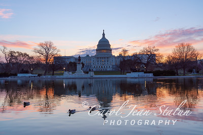 Sunrise at the Capitol