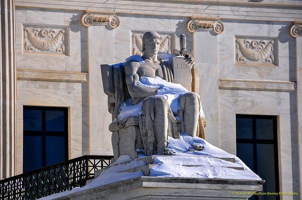 'Authority of Law' by James Earle Fraser.