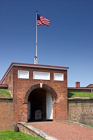 Fort McHenry, Chesapeake Bay, Baltimore MD