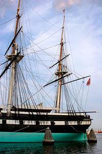 Stern of the USS Constellation, Inner Harbor, Batimore MD