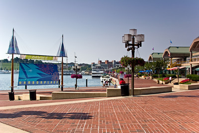 Entrance to Harbor Place, Baltimore MD