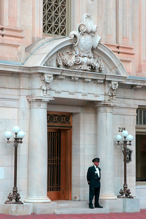 Doorman at an Elegant Downtown Baltimore Building