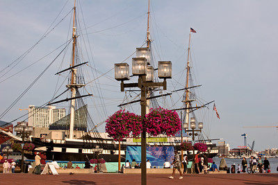 USS Constellation at Harbor Place, Baltimore MD