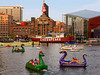Dragon Boats in Baltimore Inner Harbor