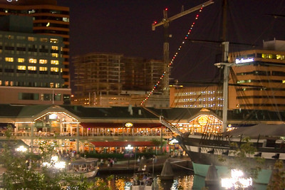 Harborplace, Baltimore at Night
