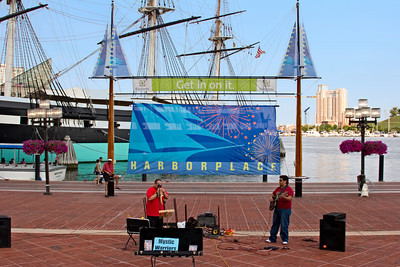 Street Musicians at Harbor Place, Baltimore MD