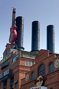 Power Plant in the Baltimore Inner Harbor