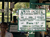 Sign for Swan Boats, Boston Public Garden