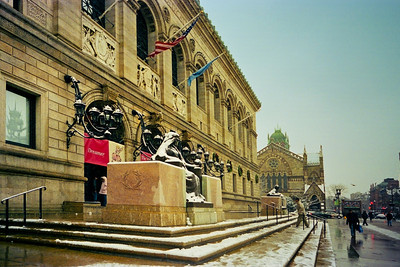 Boston Public Library, Copley Square, Boston, Massachusetts