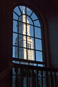 Customhouse Tower From Faneuil Hall, Boston MA
