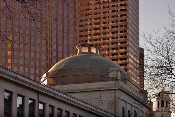 The Quincy Market Dome, Boston MA