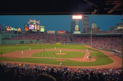 Night Game in Fenway Park, Boston