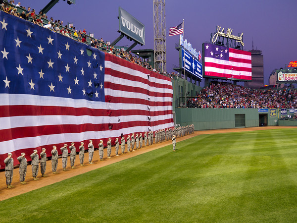 September 11 Tenth Anniversary Commemoration Ceremony, Fenway Park