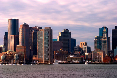 The Downtown Boston Skyline