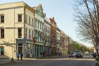 Meeting Street, Downtown Charleston, South Carolina