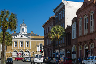 The Old Exchange and Provost Dungeon, Charleston, South Carolina