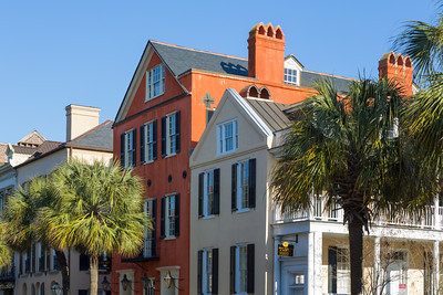 Restored Buildings in the Historic French Quarter