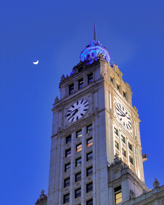 Wrigley Building, Chicago. Illinois