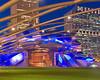 Jay Pritzker Pavilion in Millenium Park. Chicago