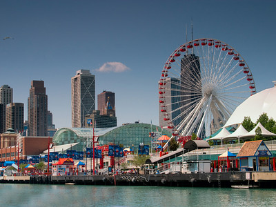Navy Pier On The Chicago Waterfront