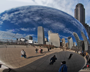 Cloud Gate, Millenium Park, Chicago