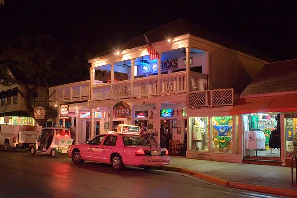 Duval Street, Key West at Night