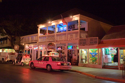 Duval Street, Key West at Night
