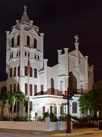 Church in Downtown Key West, Florida