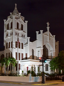 Church in Downtown Key West, Florida