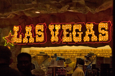 A Las Vegas Neon Sign
