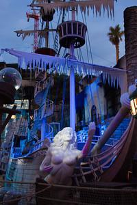 Treasure Island Hotel Pirate Ship, Las Vegas Nevada