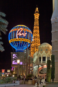 Paris Casino Exterior on the Las Vegas Strip