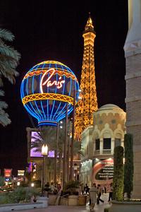 Paris Casino Exterior on the Las Vegas Strip