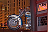 Sign for The Harley Davidson Restaurant On The Las Vegas Strip