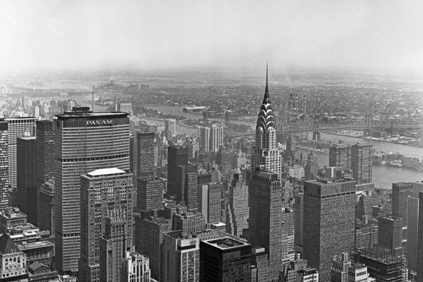 New York City Skyline, c1970