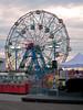 The Wonder Wheel in Coney Island