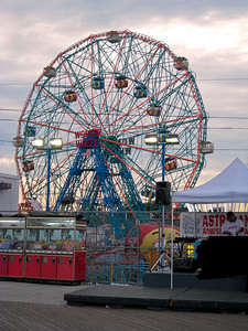 The Wonder Wheel in Coney Island