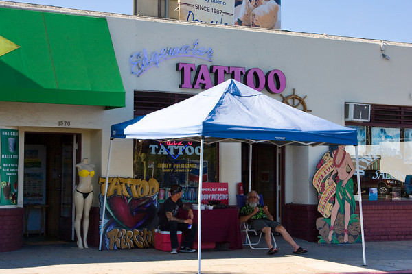 Tattoo Parlor, Pacific Beach, California