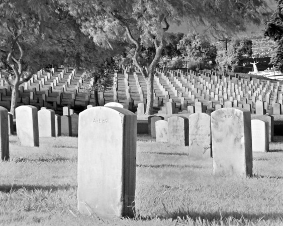 Fort Rosecrans National Cemetery, Point Loma, San Diego, CA