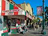 Street Scene, Little Italy, San Diego CA