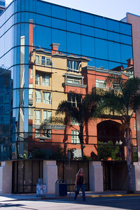 Building Reflections, First and beech Streets, San Diego, California
