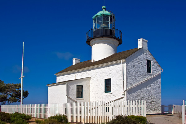 Old Point Loma Lighthouse, San Diego CA