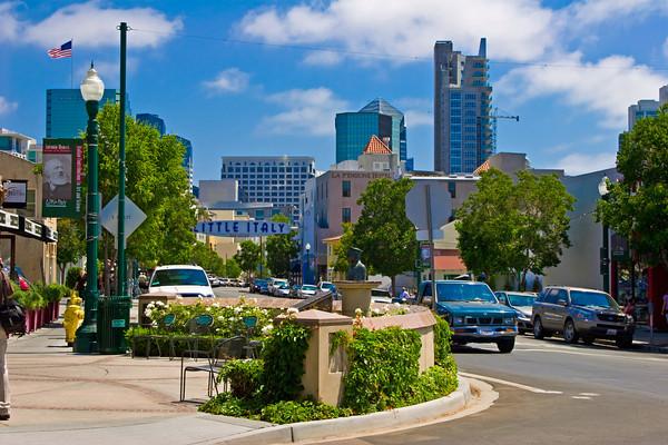 India Street, Little Italy, San Diego CA