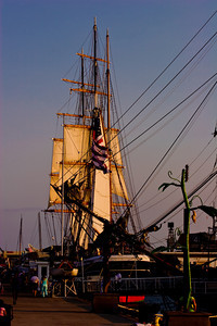 Star of India with rigging, at the San Diego Maritime Museum