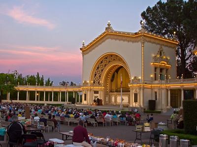 Spreckels Organ Pavilion, Balboa Park, San Diego, CA